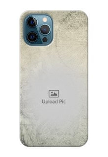 iPhone 12 Pro custom mobile back covers with vintage design