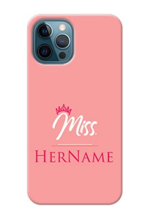 iPhone 12 Pro Custom Phone Case Mrs with Name
