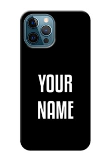 iPhone 12 Pro Your Name on Phone Case