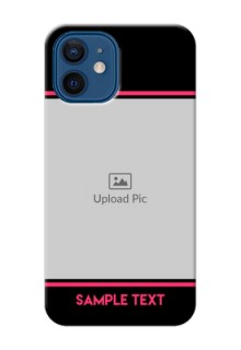 iPhone 12 Mobile Covers With Add Text Design