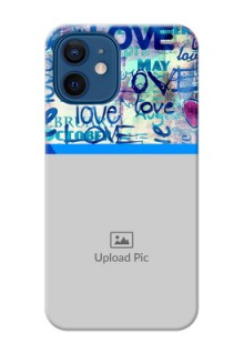 iPhone 12 Mobile Covers Online: Colorful Love Design