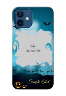 iPhone 12 Personalised Phone Cases: Halloween frame design