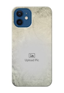 iPhone 12 custom mobile back covers with vintage design