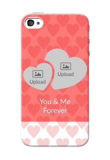 iPhone 4 personalized phone covers: Couple Pic Upload Design