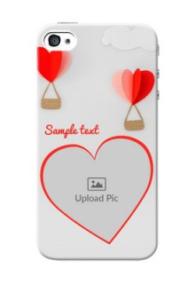 iPhone 4 Phone Covers: Parachute Love Design
