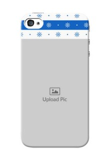 iPhone 4 custom mobile covers: Snow Pattern Design