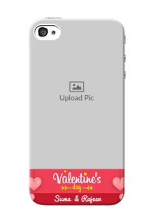 iPhone 4 Mobile Back Covers: Valentines Day Design