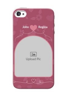iPhone 4 mobile phone covers: Love Floral Design