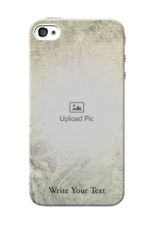 iPhone 4 custom mobile back covers with vintage design