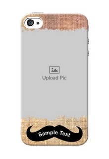 iPhone 4 Mobile Back Covers Online with Texture Design