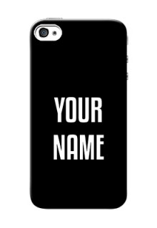 Iphone 4 Your Name on Phone Case