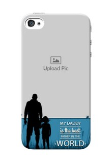iPhone 4s Personalized Mobile Covers: best dad design