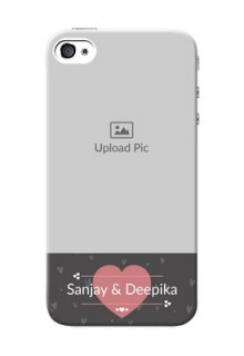 iPhone 4s Mobile Covers: Buy Love Design with Photo Online