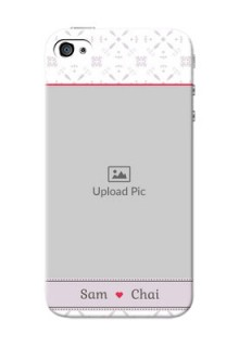 iPhone 4s Phone Cases with Photo and Ethnic Design