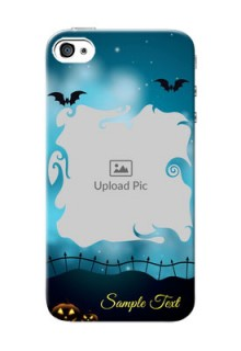 iPhone 4s Personalised Phone Cases: Halloween frame design