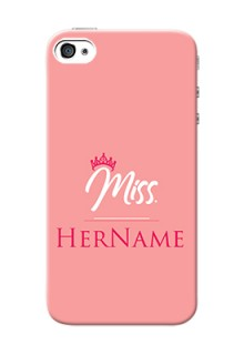 Iphone 4S Custom Phone Case Mrs with Name