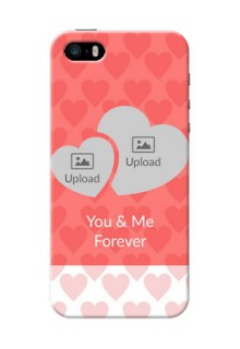 iPhone 5 personalized phone covers: Couple Pic Upload Design