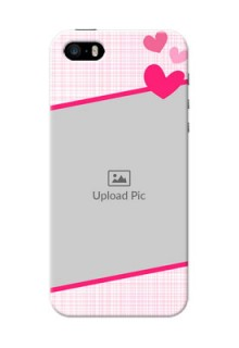 iPhone 5 Personalised Phone Cases: Love Shape Heart Design