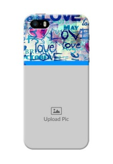 iPhone 5 Mobile Covers Online: Colorful Love Design