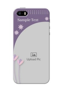 iPhone 5 Phone covers for girls: lavender flowers design