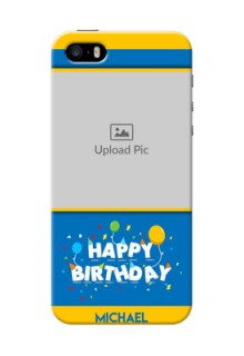 iPhone 5 Mobile Back Covers Online: Birthday Wishes Design