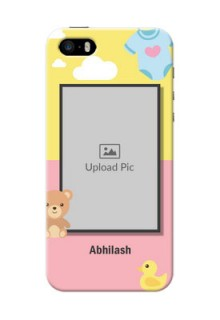 iPhone 5 Back Covers: Kids 2 Color Design