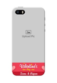 iPhone 5 Mobile Back Covers: Valentines Day Design
