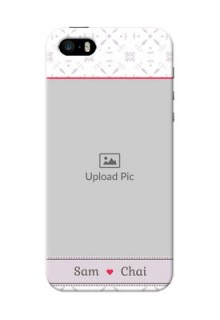 iPhone 5 Phone Cases with Photo and Ethnic Design