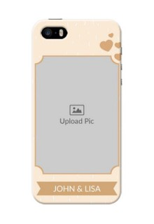 iPhone 5 mobile phone cases with confetti love design