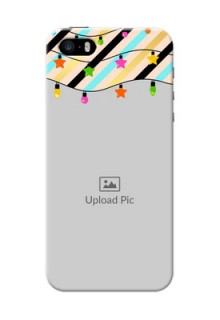 iPhone 5 Personalized Mobile Covers: Lights Hanging Design