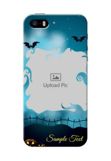 iPhone 5 Personalised Phone Cases: Halloween frame design