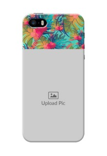 iPhone 5 Personalized Phone Cases: Watercolor Floral Design