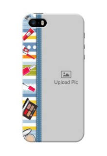 iPhone 5 Personalized Mobile Cases: Makeup Icons Design