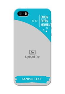iPhone 5 Personalized Phone Covers: Happy Moment Design
