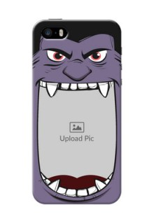 iPhone 5 Personalised Phone Covers: Angry Monster Design