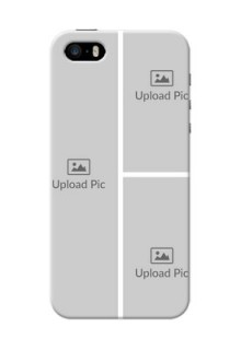 iPhone 5s Custom Mobile Cover: Upload Multiple Picture Design