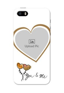 iPhone 5s customized phone cases: You & Me Design
