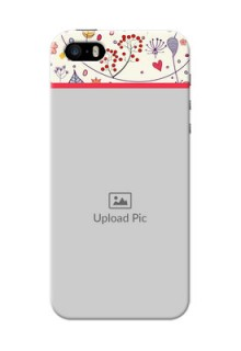 iPhone 5s phone back covers: Premium Floral Design