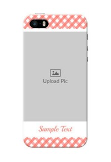 iPhone 5s custom mobile cases: Pink Pattern Design