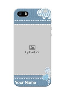 iPhone 5s Custom Phone Covers with Kids Pattern Design
