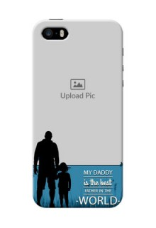 iPhone 5s Personalized Mobile Covers: best dad design