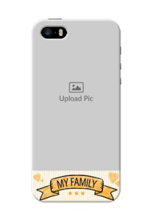iPhone 5s Personalized Mobile Cases: My Family Design