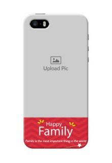 iPhone 5s customized phone cases: Happy Family Design