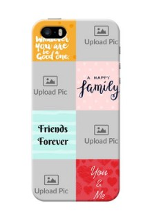 iPhone 5s Customized Phone Cases: Images with Quotes Design