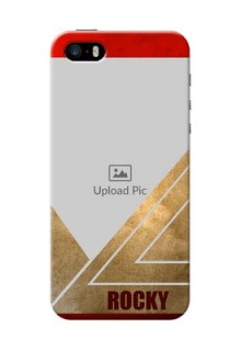 iPhone 5s mobile phone cases: Gradient Abstract Texture Design