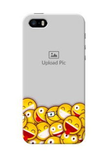 iPhone 5s Custom Phone Cases with Smiley Emoji Design