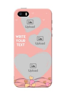 iPhone 5s customized phone cases: Love Doodle Design