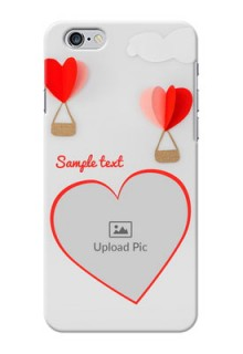 iPhone 6 Plus Phone Covers: Parachute Love Design