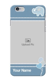 iPhone 6 Plus Custom Phone Covers with Kids Pattern Design