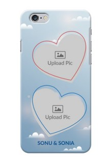 iPhone 6 Plus Phone Cases: Blue Color Couple Design